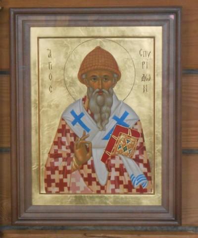 Храмовая икона святителя
