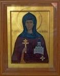 Икона св. прп. Евфросинии Полоцкой
