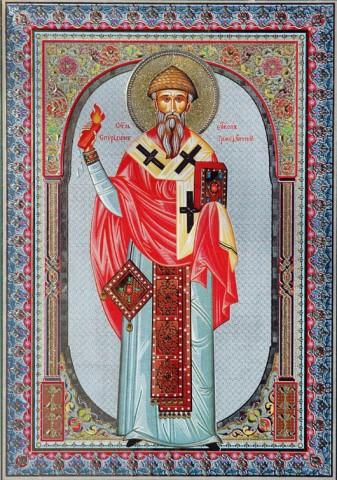 Икона свт. Спиридона Тримифунтского