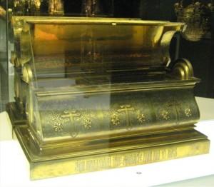 Ковчег для мощей Афанасия Брестского. Серебро, позолота, 1857 год