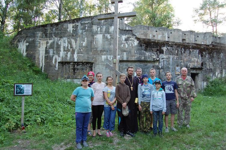 Поход по фортам Гродненской крепости
